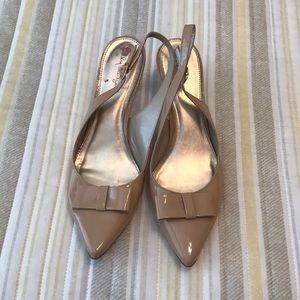 Lilly Pulitzer Nude Heels Size 9.5